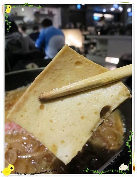 台北-本沐食堂-美味的壽喜燒吃到飽-百頁豆腐