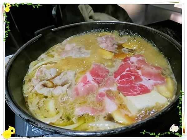 台北-本沐食堂-美味的壽喜燒吃到飽-豬豬肉
