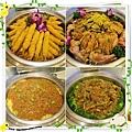桃園-住都飯店晚餐buffet吃到飽-超出期待的美味-熟食區