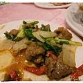 台北-中山區-新紅寶石港式吃到飽-蔥爆牛肉