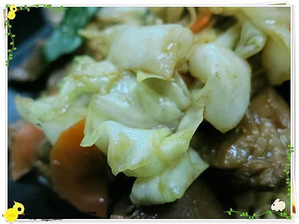 台北-三杯三怪媽媽小廚-美味的三杯料理-三杯雞高麗菜