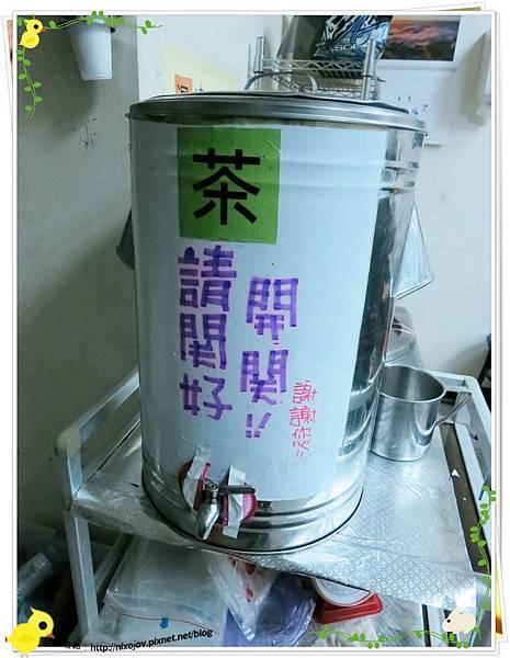 台北-三杯三怪媽媽小廚-美味的三杯料理-茶