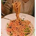 台北-夏諾瓦義大利麵-壽星優惠吃免錢-明太子鮮蝦蘆荀義大利麵