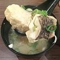 台北-台北車站-築地鮮魚-平價日式生魚片-魚肉吃到飽-魚肉味噌湯