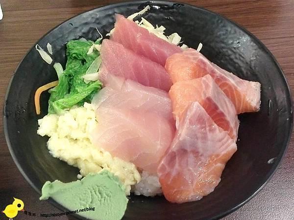 台北-台北車站-築地鮮魚-平價日式生魚片-魚肉吃到飽-生魚片蓋飯