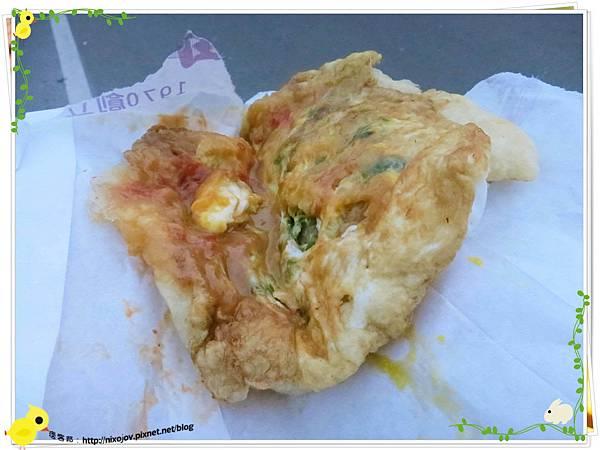 宜蘭-礁溪-柯氏蔥油餅-到此一遊,不吃遺憾-TTO蔥油餅加蛋
