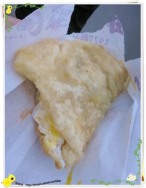 宜蘭-礁溪-柯氏蔥油餅-到此一遊,不吃遺憾-柯氏蔥油餅加蛋-柯氏蔥油餅加蛋