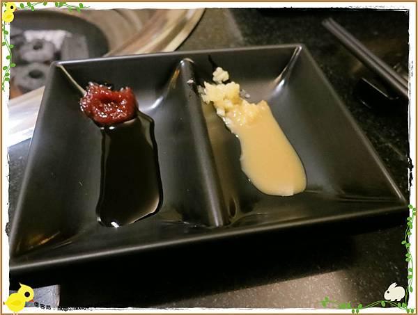 台北-京東洋食燒烤『入口即化的美味牛肉』-醬料