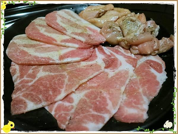 台北-京東洋食燒烤『入口即化的美味牛肉』-豬副餐-梅花-豬五花-雞腿肉-去骨雞翅