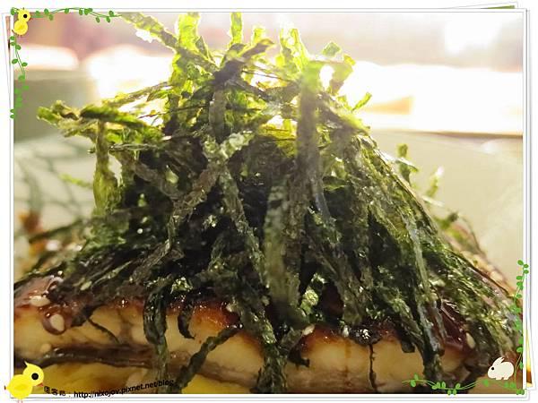 台北-板橋-海禾味刺身壽司屋-炙燒的美味,入口即化-蒲燒鰻魚飯