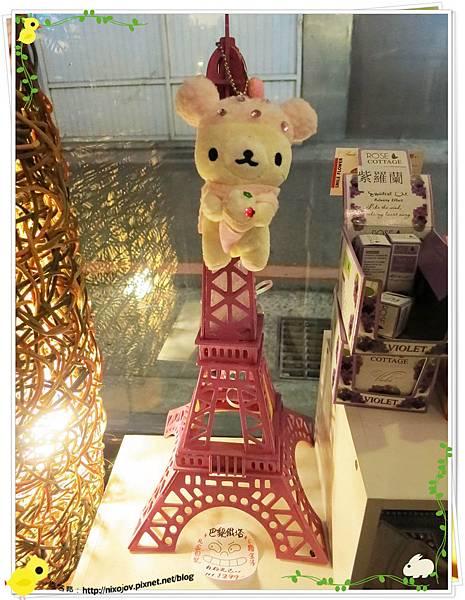 台北-板橋-花吃-花的禮物餐廳-鐵塔兔兔