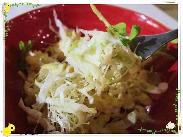 台北-板橋-花吃-花的禮物餐廳-芒果優格沙拉