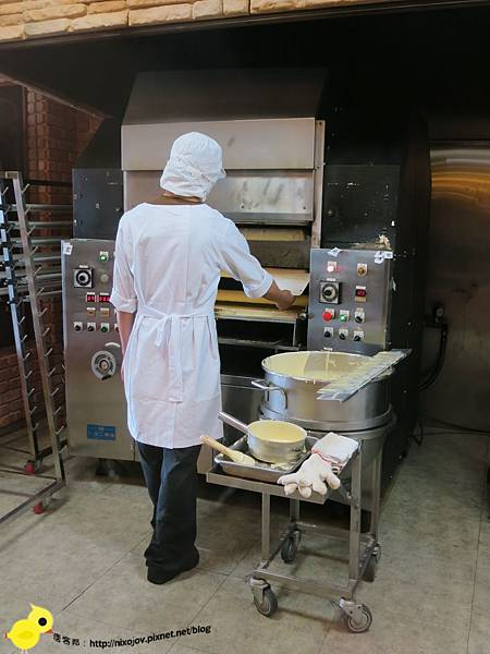 【宜蘭】觀光工廠-亞典菓子工場-年輪蛋糕的世界