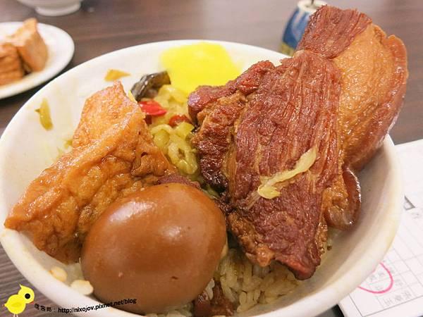 【台北】33年老店知高飯-瘦不柴、肥不膩-知高飯