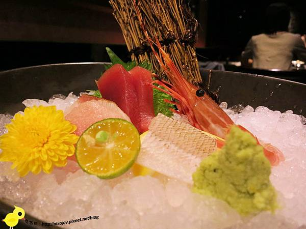 【台北】宸-創意日式料理,帝王所居-生魚片