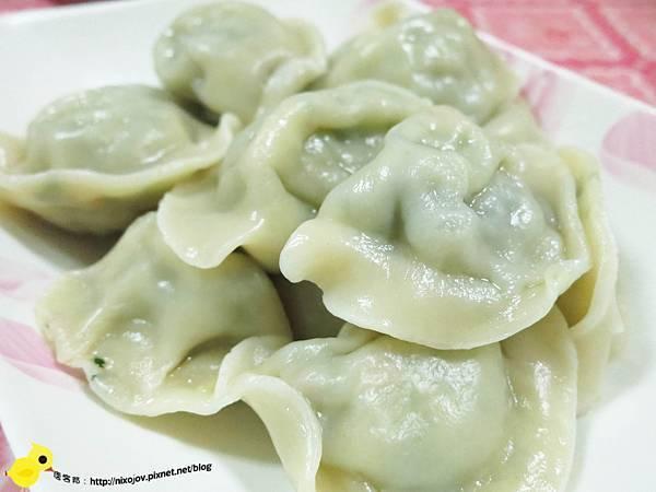 【台北】慈明台素食-雪裡紅水餃