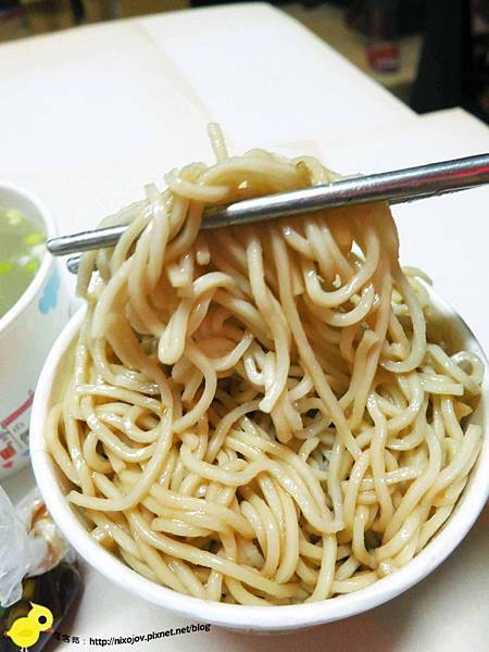 【新莊】烏醋乾麵骨仔肉湯-簡單好吃的美食