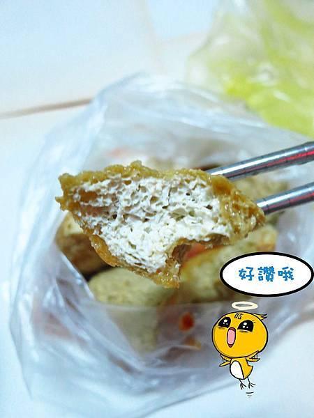 【新莊】光頭佬臭豆腐.蚵仔麵線-皮酥不油膩