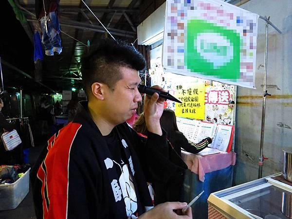【三重】天狗神社造型飲料攤-LV級的飲料店-三和夜市高大鮮奶