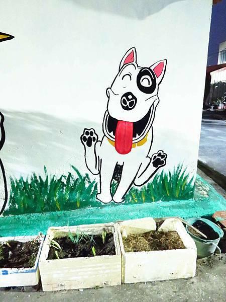 【台南善化】胡厝寮彩繪村-可愛的龍貓、馬來貘、老皮