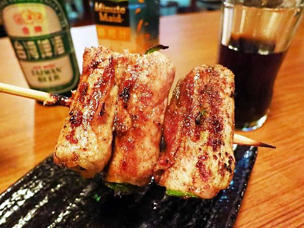 【台北】柒串燒屋-焦糖口味的串燒