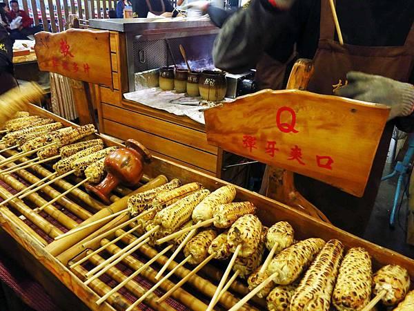 【花蓮美食】林記燒番麥-自強夜市美食