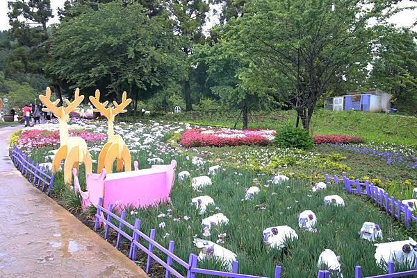 清境農場-清境小瑞士花園-小小花園,大大費用