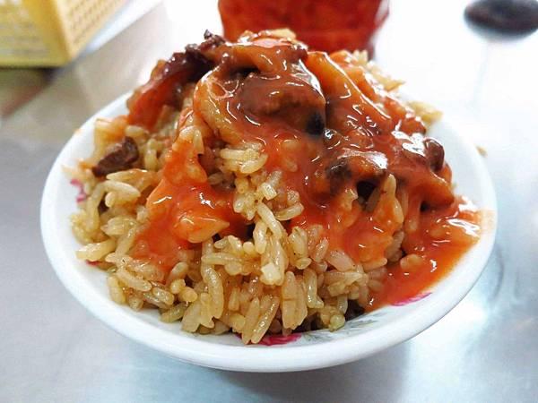 【三重】阿田油飯-粒粒分明不油不膩的油飯
