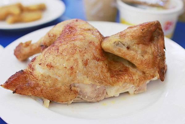 【21世紀烤雞風味館】好梅烤半雞-十年汁味,感動好梅-1撕2沾3伴飯新式烤雞吃法