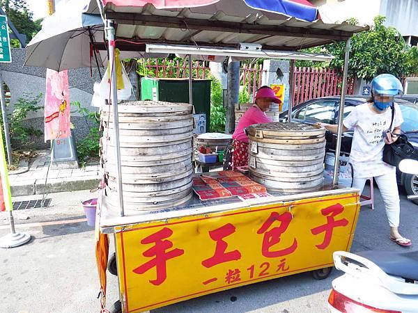 【三重美食】二重國小轉角包子店-1顆12元肉包便宜又美味