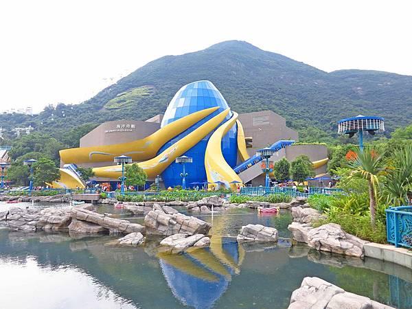 【香港旅遊景點】海洋公園-萬聖節血腥大餐
