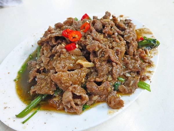 【三重美食】自強路炒羊肉攤-不像羊肉的炒羊肉
