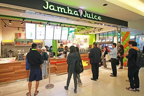 【台北餐廳】Jamba Juice-不是果汁也不是冰沙的果昔