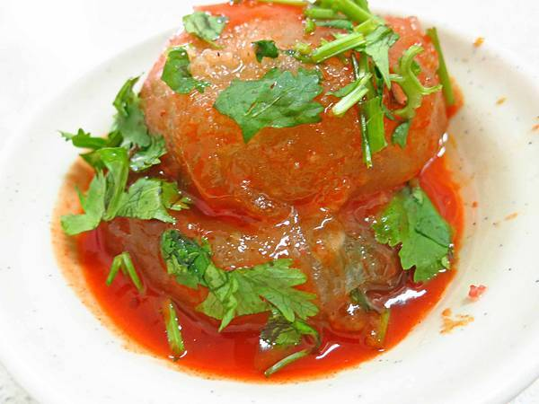 【新竹美食】竹蓮肉圓-特殊的醬料肉圓