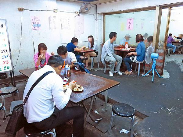 【台北萬華美食】24小時切仔麵店-南機場夜市黑白切