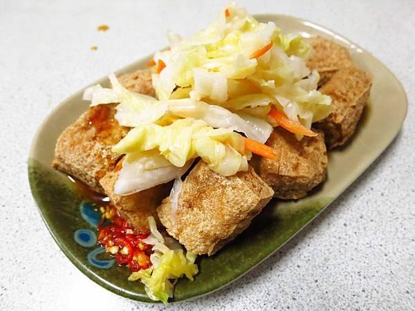 【三重美食】中正北路臭豆腐-素食麵線、臭豆腐、蘿蔔糕