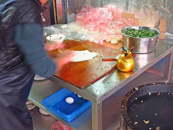 【新竹美食】大眾早餐店-現揉現桿的手工蛋餅