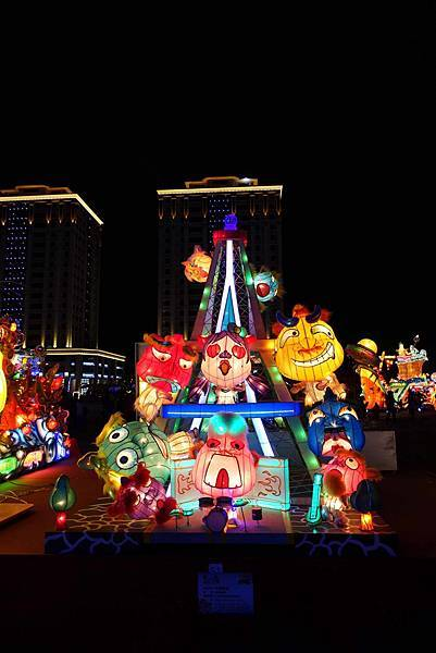 2016桃園燈會、桃園高鐵、青塘園、桃園國際棒球場台灣主燈晚會