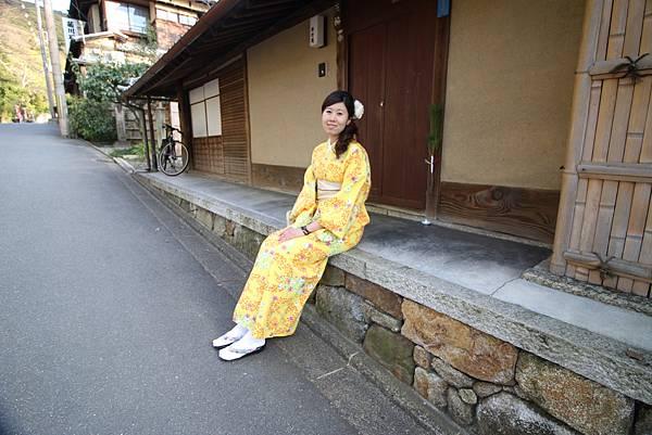 【京都旅遊】岡本(祗園店)和服租借體驗