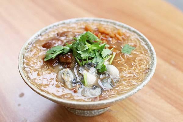 【台北美食】Ha婆蚵仔麵線手工餃子-特殊的特製辣蘿蔔蚵仔麵線