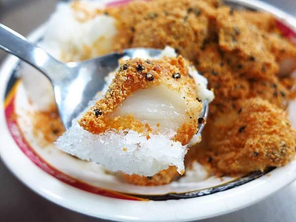 【台北美食】祥記純糖燒麻糬-特殊的冰火麻糬冰