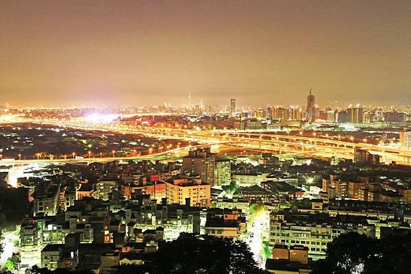 【台北旅遊】水碓景觀公園觀景台-美麗夜景,約會聖地