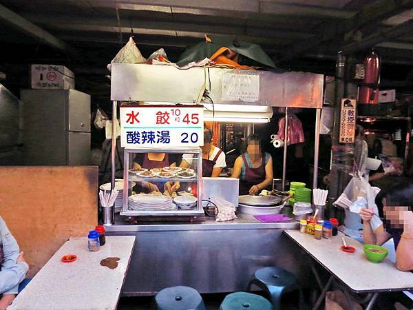 【台北美食】社子島水餃店-現桿現包的爆漿水餃