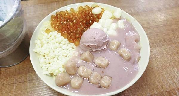 【永和】阿爸の芋圓-特殊的蔗糖片挫冰