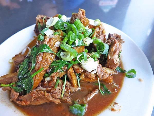 【新竹美食】原味鴨肉麵-香噴噴的炒鴨骨與鴨肉飯