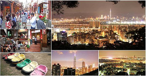 台北及新北市好玩的一日遊行程、自由行景點、戶外夜景、約會聖地、老街行程-懶人包