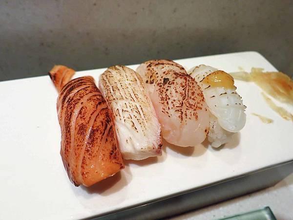 【台北】三燔美麗華-帶有苦味的炙燒握壽司吃到飽
