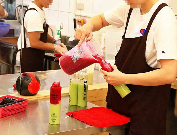 【永和美食】Guava juice芭樂芭-超人氣天然水果果汁