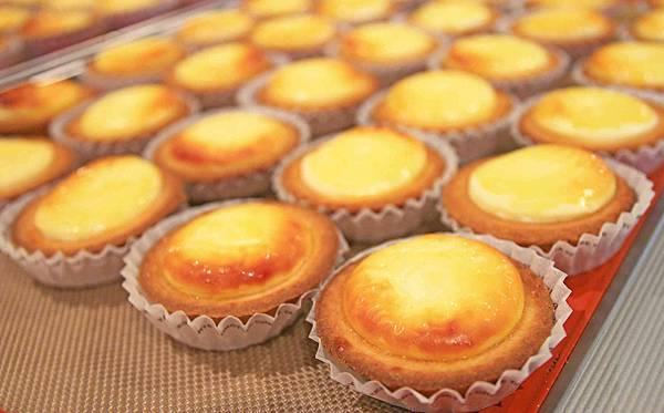 【高雄甜品店】BAKE CHEESE TART-每2秒賣出一個的半熟起司塔