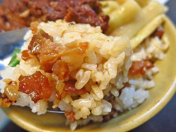【桃園】滷肉方控肉飯-充滿膠質黏稠的魯肉飯